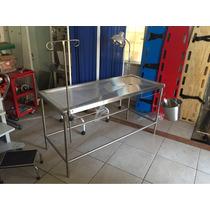 Mesa De Cirugías Veterinaria Súper Reforzada