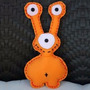 Muñeco De Diseño De Tela 30cm Modelo 3 Ojos