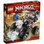 Juguetes Lego Ninjago Camión Cráneo 2506 Negro