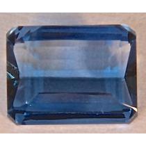 Rsp 2923 Espinélio Azul Retangular 8,6x6,53mm Com 1,9ct