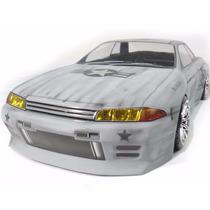 Carro Himoto Nissan Skyline R32 Gt-r 94 Navy 4x4 Drift 1/10