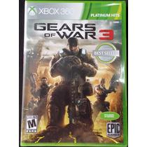 Gears Of War 3 Xbox 360 100% En Español Nuevo
