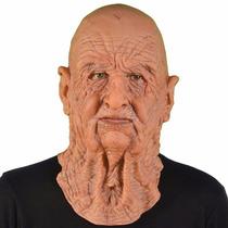 Máscara Homem Velho Luxo - Máscara Realista