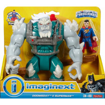 Dc Imaginext Super Friends - Superman E Doomsday Apocalipse