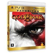 Jogo God Of War Iii Ps3