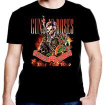 Camiseta Manga Curta Guns Roses Ref=327