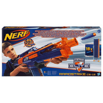 Nerf N-strike Elite Rapidstrike Cs-18 Blaster Frete Barato