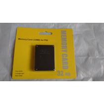 Memory Card 32 Mb Para Ps2 Play Station 2 Envio Gratis