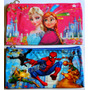 Cartuchera Escolar Frozen Spiderman Pincesas Cars Cotillon