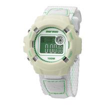 Relógio Unissex Mormaii Casual Dw3184/8e - Creme E Branco...