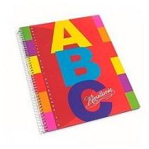 Cuaderno Abc Rivadavia *60 Hojas C/ Espiral X 5 Unid