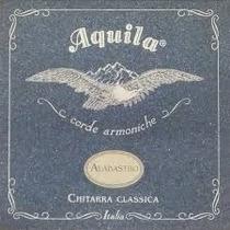 Cordas Violão Aquila Alabastro Nylgut Itália