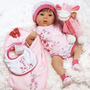 Bebe Reborn Realista 19 Pulgadas Para Niñas De 3+ Años