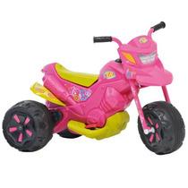 Moto Elétrica Infantil Bandeirante Xt3 6v Fashion Rosa