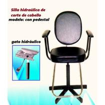 Silla Para Barberia Corte De Cabello Profesional De Lujo