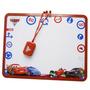 Quadrinho Quadro Branco Infantil Calendário Carros Brinquedo