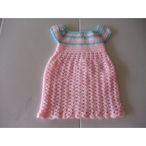 Vestidos Para Niña De 0 A 3 Meses Tejidos A Mano