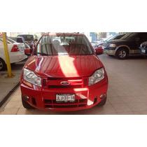 Ford Ecosport 2008 Roja Con Financiamiento $89,900