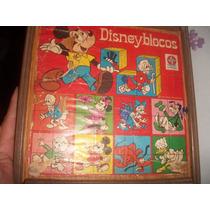 Disney Blocos Estrela Anos 70 -unico No Mercado Livre _raro!