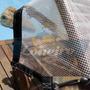 Lona 4x4 Transparente Cobertura Translúcida Toldo 400micras