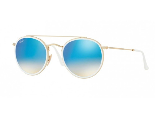 ray ban round double bridge rb 3647 originales italianos. Cargando zoom. dbda5056f1