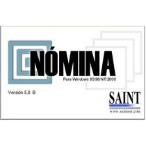 Saint Nomina 5 Software Bajo Windows Sistema Configurable