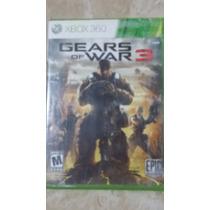 Gear Of War 3 Xbox 360 Usado Envió Gratis