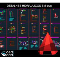 Blocos Para Autocad - Dwg -detalhes Hidráulicos Para Projeto