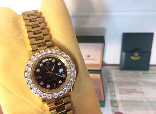 b697a3279a0 Rolex Cravejado - Com Video - Melhor Preço Mercadolivre - R  750