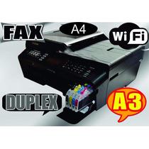 Impressora Brother Mfc J6510 A3/a4 + Bulk+400ml Sublimatica