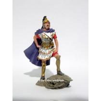 Miniatura Soldado Guerreiro Romano De Chumbo Pintado A Mão.