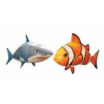 Air Swimmers Peces Y Tiburones Voladores