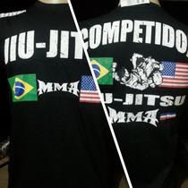 Camisa Camiseta Jiu Jitsu Mma Ufc Artes Marciais Academia