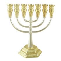Menorah Templo 40cm Alto Importada Israel. Excelente Calidad