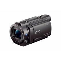 Camara 4k Hd Sonyfdrax 33 Con Parasol Y Mic Externo