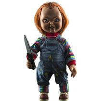 Chucky El Muñeco Diabolico Figura Tamaño Real Con Voz Terror