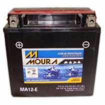 Bateria Moura Moto - 12v E 12ah - Ma12-e