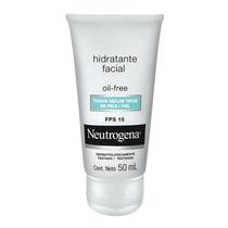 Hidratante Facial Neutrogena Oil Free Fps 15 - Produto Novo