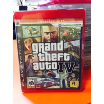 Jogo Gta Iv Playstation 3, Novo Lacrado, Midia Física Orig.
