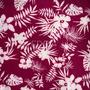Flores Tropicales Rojo (Polilycra)