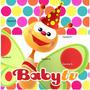 Kit Imprimible Baby Tv Mariposa Candy Bar Colorido Tarjetas