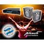 Combo Potencia Altech Xp 1000 Y 2 Bafles 12 300w