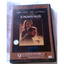 Envio Gratis Dhl Seminuevo 2 Discos Dvd El Paciente Ingles