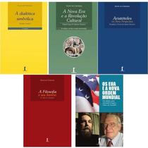 Kit 5 Livros - Olavo De Carvalho - Frete Incluído