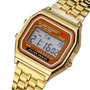 Reloj Digital Vintage Pulsera Metálica Color Dorado<br><strong class='ch-price reputation-tooltip-price'>$ 5.990</strong>