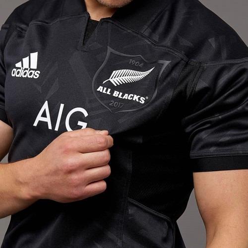 e7a1ef77d Camisa Rugby Nova Zelândia All Blacks Tam M