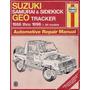 Manual De Taller De Suzuki Samurai 1986-1996 Haynes