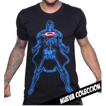 Playera King Monster Mod: Superman X-ray Limited