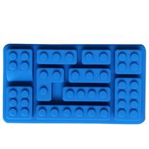 Genial Molde S4 De Silicon En Forma De Bloques De Lego