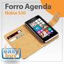 Nokia Lumia 530 Forro Estuche Flip Tipo Agenda